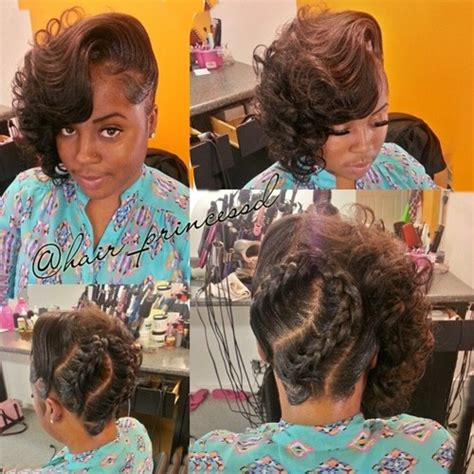 pin up styles for braids 50 superb black wedding hairstyles african american