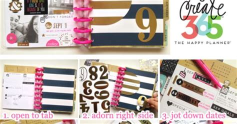 Make And Take Ideas From Cha 365 Days Of Crafts - track your goals make important notes and celebrate 365