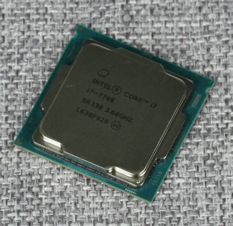 i7 7700k cpu fan intel core i7 7700k benchmarks leaked top kaby lake in
