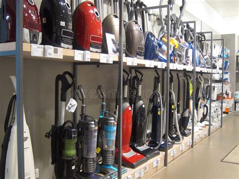 Vacuum Cleaner Innovation Store vacuum cleaners or hoovers for sale in a store editorial image image of floor hoovers 37616195