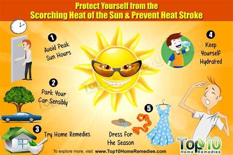 prevent heatstroke top  home remedies