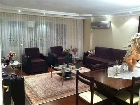 central 3 bedroom and 1 living room fully furnished