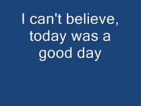Ice Cube It Was A Good Day Youtube | it was a good day ice cube lyrics youtube