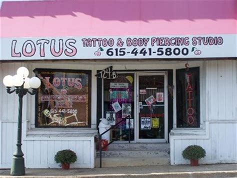 lotus tattoo dickson tn lotus and piercing studio dickson tn