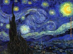 vincent van gogh starry night painting 50 van gogh starry night