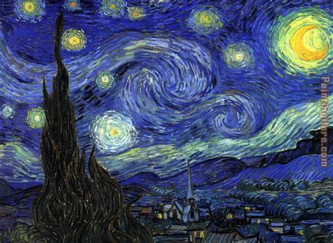 vincent van gogh starry night painting 50 off van gogh