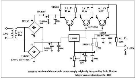 alimentatore lm317 projeto fonte 2n3055 e lm317 fontes e energia