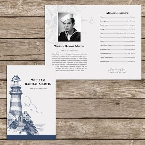 40 Best Images About Funeral Program Ideas On Pinterest Program Template Funeral Order Of Memorial Service Templates Sles