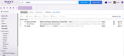 Yahoo Email Search Yahoo Mail Free Email With 1000 Gb Of Storage