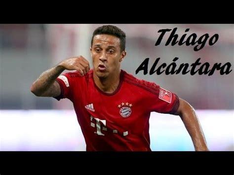 thiago alcntara pes 2016 stats thiago alc 226 ntara pre season 2015 2016 ᴴᴰ youtube