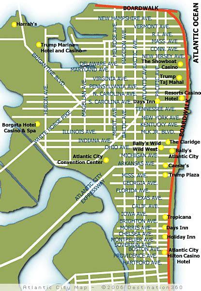 map of atlantic city nj atlantic city map map of atlantic city