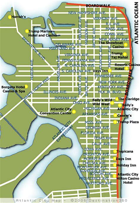 atlantic city map atlantic city map map of atlantic city