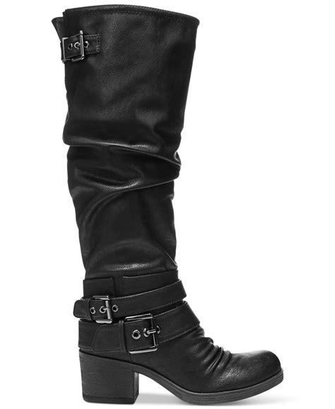 carlos santana boots carlos by carlos santana boots in black lyst