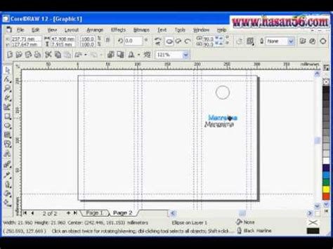 membuat brosur di coreldraw x5 corel draw video dersleri corel draw da broş 252 r yapımı