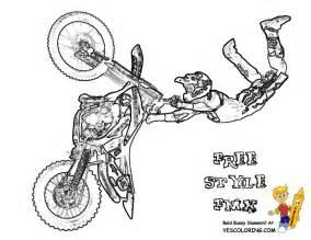 dirt bike coloring pages motorbike coloring pages free kawasaki fmx motorbike