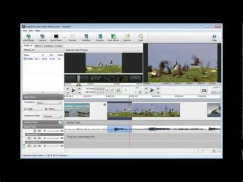 tutorial penggunaan videopad video editor videopad video editing software tutorial part 1 youtube