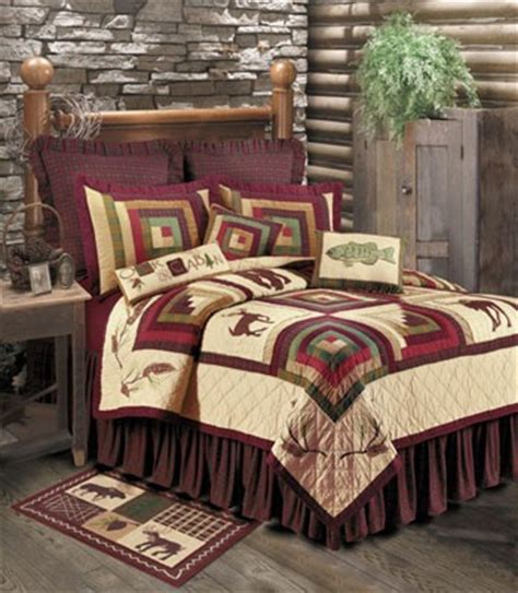 Pine Cone Bedding Set Pine Cone Lodge Bedding Set Inns And Cabins Pinterest