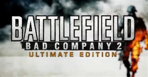Ps3 Battlefield Bad Company 2 Ultimate Edition battlefield bad company 2 ultimate edition officially