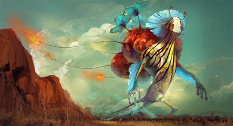Dunia Paralel surreal creatures artwork