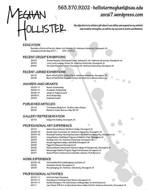 art resume template makeup artist resume template club