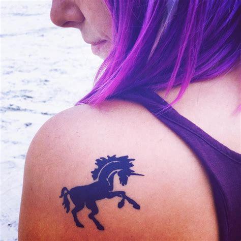 Unicorn Tattoo On Shoulder | 21 unicorn tattoo designs ideas design trends