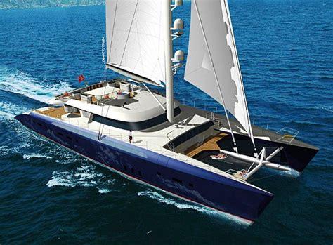 mega catamaran sailing yachts catamaran hemisphere yacht charter superyacht news