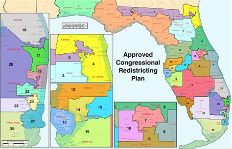 florida congressional districts map united states house of representatives elections in
