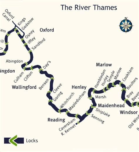 map of river thames in oxford dorchester on thames what i reckon
