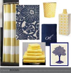 Blue And Yellow Bathroom Ideas navy and yellow bathroom design