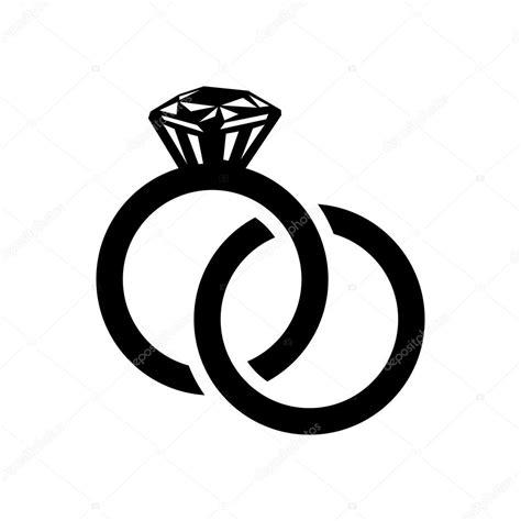 Wedding Rings Vector by Wedding Rings Simple Icon Stock Vector 169 Juliarstudio