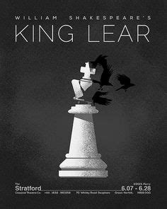 printable version of king lear shakespeare king lear by michael perry on shakesposter