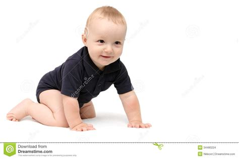 baby in crawling kid infant baby crawling stock images image 34480224