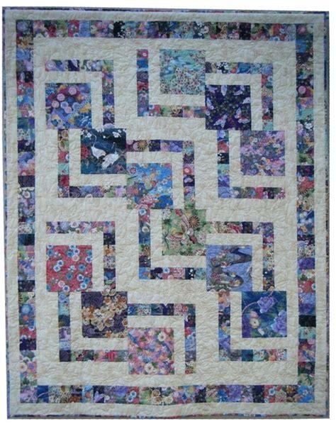 zig zag zoom quilt pattern quilt inspiration