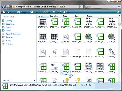 microsoft visio 2007 shapes visio stencils in powerpoint