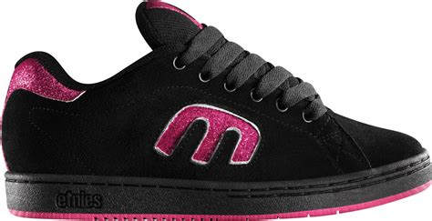 etnies callicut 2 black pink skate shoes