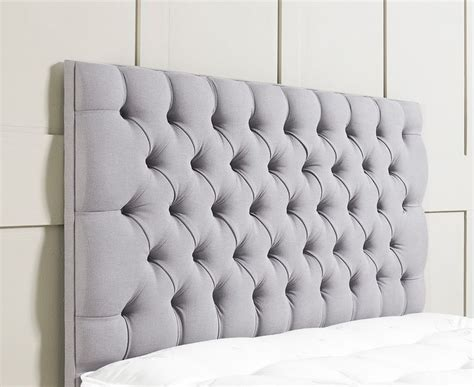 Upholstered Headboard Grey by Best 25 Grey Upholstered Headboards Ideas On