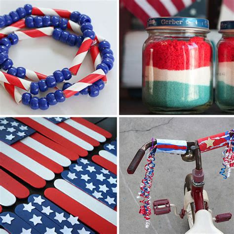 independence day crafts and easy fourth of july crafts for it s always