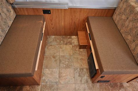rv table bed 82 used cer dinette booths villa ld rd dinette booth