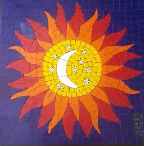 Sol Em Mosaico Sun In Mosaic Trabalho Finalizado Foram