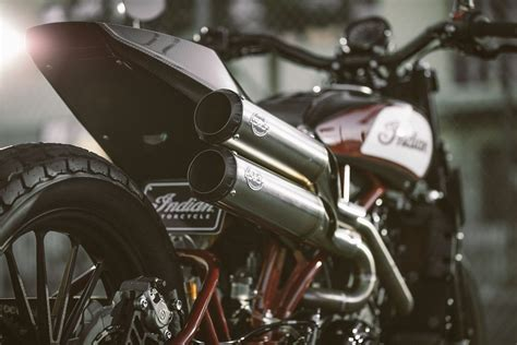 indian scout ftr custom concept street bike unveiled