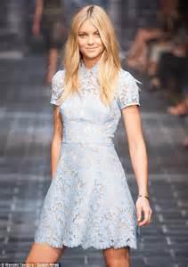 Terysa Set Dress elyse gets set to walk david jones runway daily