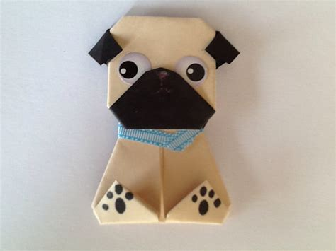 How To Make An Origami Pug - origami pug comot