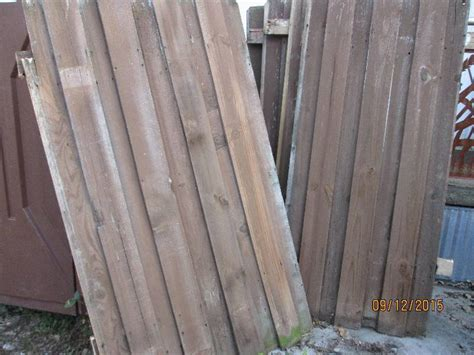 fence sections for sale wood fencing panels and pickets lots of lumber in