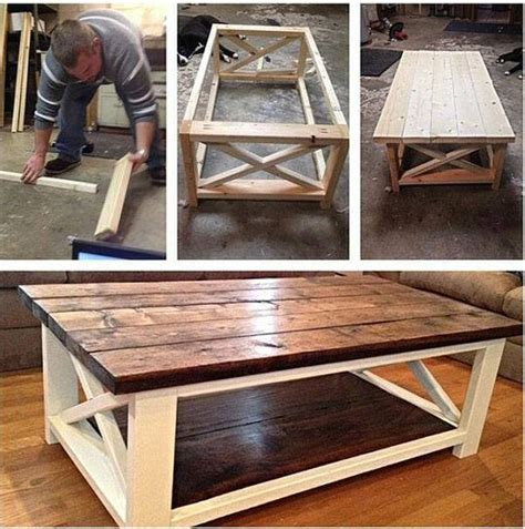 How To Build A Rustic Coffee Table Build A Rustic X Coffee Table With Free Easy Plans Home Design Garden Architecture