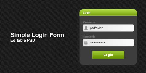 33 best free css html login form templates design image gallery login form