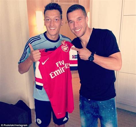 Ozil Superstar Tshirt premier league summer transfer verdict 2013 daily mail