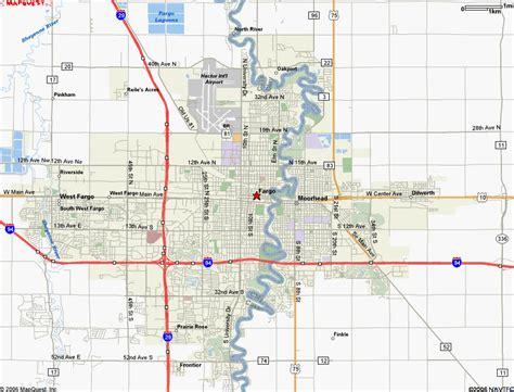 map of fargo nd fargo map world map 07