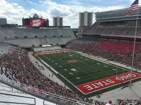 section 10 c ohio stadium section 10c rateyourseats com