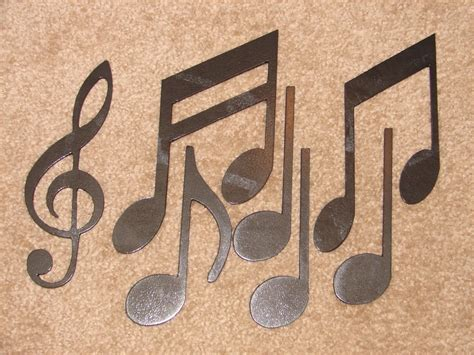 music wall decor metal wall art decor music notes musical note patio