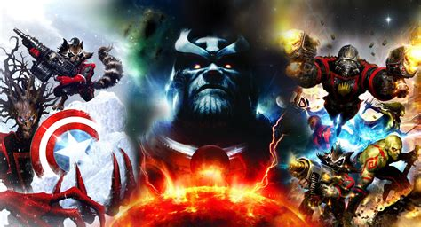 download film karya marvel thanos wallpapers wallpaper cave
